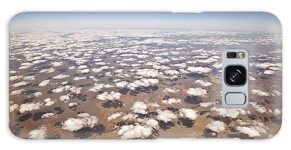 Cloudscape Galaxy Case - Decorative Clouds Over The Arid Deserts by Trekandshoot