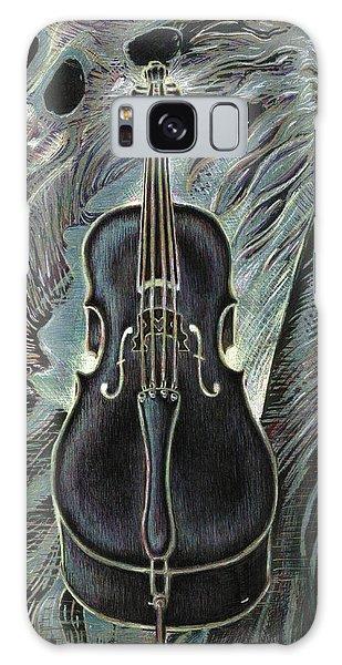 Deep Cello Galaxy Case