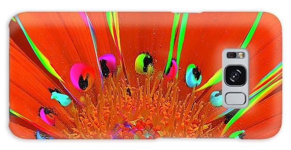 Deep Coral Bloom  Galaxy Case