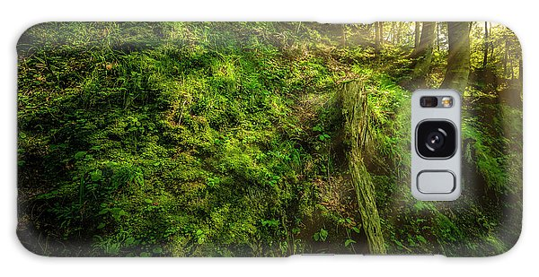 Galaxy Case featuring the photograph Deep In The Forests Of Bavaria by David Morefield