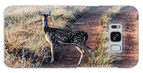 Deer Posing Galaxy Case