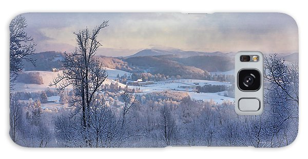 Deer Valley Winter View Galaxy Case