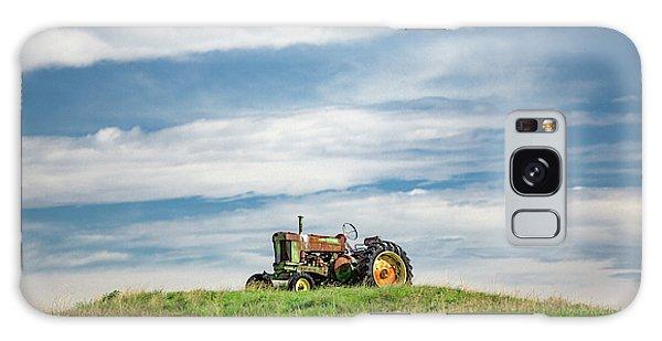 John Deere Galaxy Case - Deere On The Hill by Todd Klassy