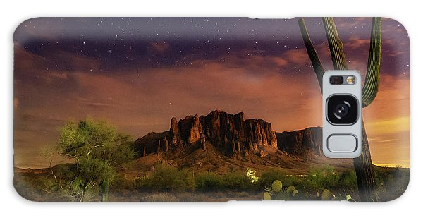 Galaxy Case featuring the photograph Desert Beauty by Tassanee Angiolillo