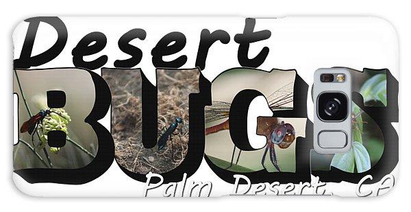 Desert Bugs Big Letter Galaxy Case