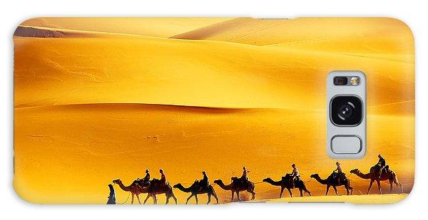 Caravan Galaxy Case - Desert Caravan by Mikadun