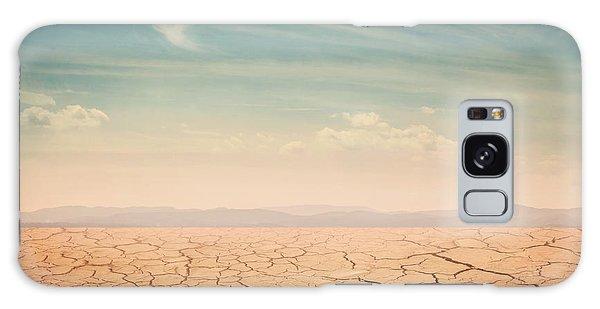 Scenery Galaxy Case - Desert Landscape Background Global by Elena Schweitzer