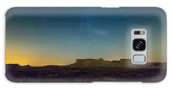 Geology Galaxy Case - Desert Landscape Of Navarra In Night by Iakov Filimonov