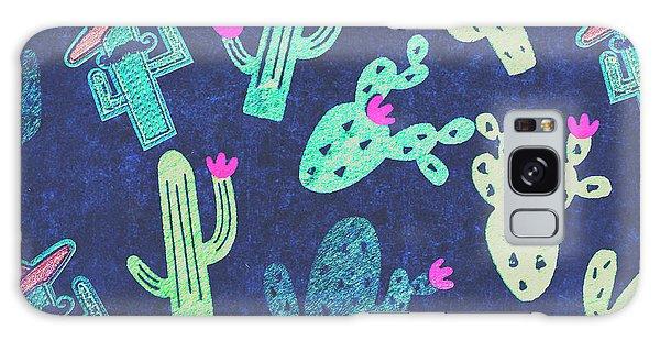 Cacti Galaxy Case - Desert Nights by Jorgo Photography - Wall Art Gallery
