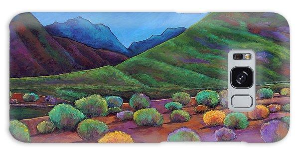 Shrub Galaxy Case - Desert Valley by Johnathan Harris