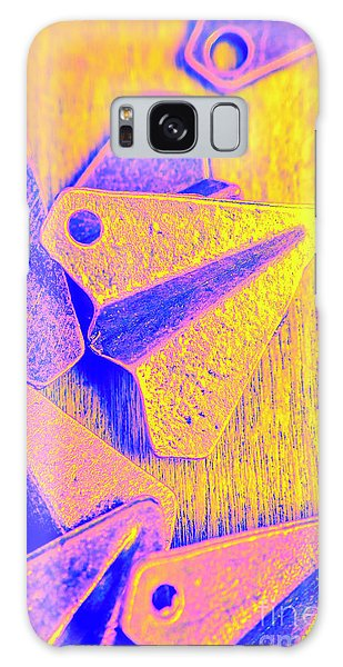 Airplanes Galaxy Case - Designed In The Folds Of A Dumb by Jorgo Photography - Wall Art Gallery