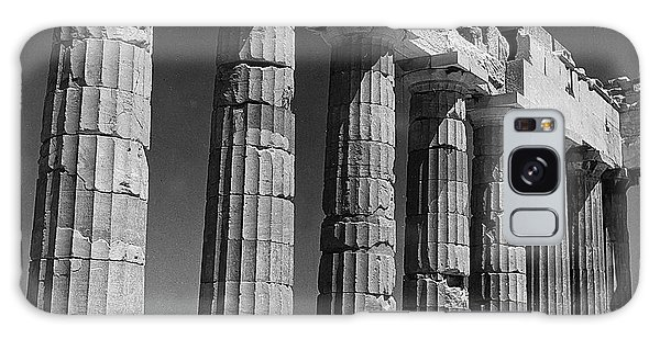 The Empire Galaxy Case - Detail Of The Colonnade Of The Parthenon, Acropolis, Athens by Greek School