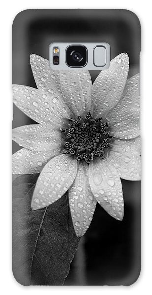Dewdrops On A Sunflower Galaxy Case