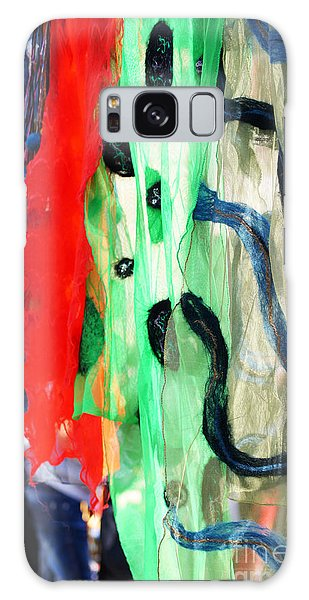 Attraction Galaxy Case - Different Colors Scraft On The Street by Anna Bogush