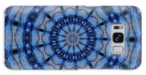 Blue Jay Mandala Galaxy Case