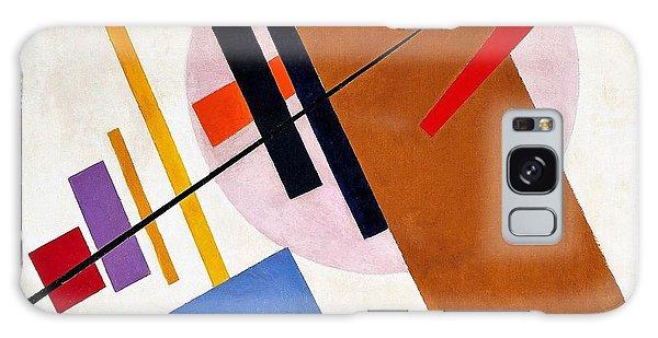 Russian Impressionism Galaxy Case - Digital Remastered Edition - Suprematism, No55 by Kazimir Severinovich Malevich