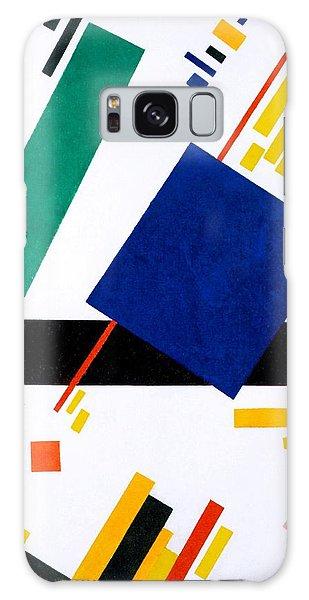 Russian Impressionism Galaxy Case - Digital Remastered Edition - Suprematist Composition by Kazimir Severinovich Malevich