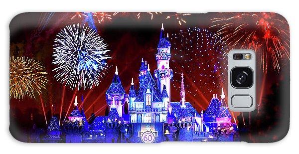 Fireworks Galaxy Case - Disneyland 60th Anniversary Fireworks by Mark Andrew Thomas