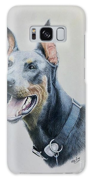 Doberman Galaxy Case