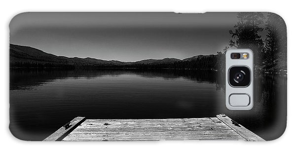 Dock At Dusk Galaxy Case