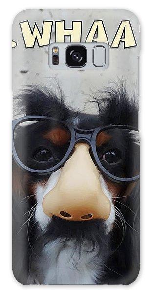 Dog Gone Funny Galaxy Case