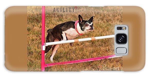 Doggie Agility  Galaxy Case