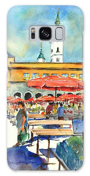 Dolce Market In Zagreb #1 Galaxy Case