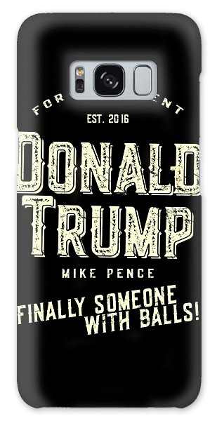 Donald Trump Mike Pence 2016 Vintage Galaxy Case