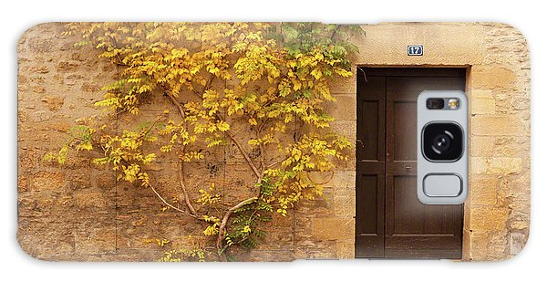 Galaxy Case featuring the photograph Doorway, Sarlat, France by Mark Shoolery