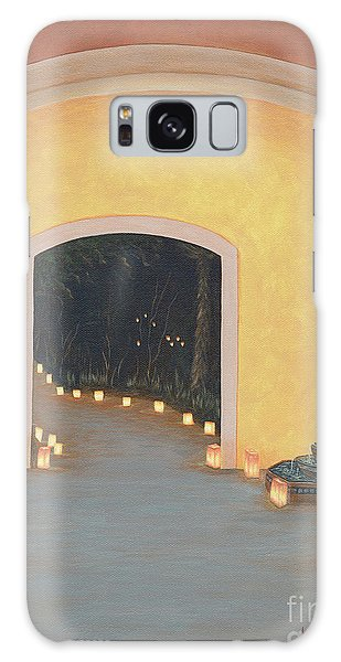Mexico Galaxy Case - Doorway To The Festival Of Lights by Aicy Karbstein