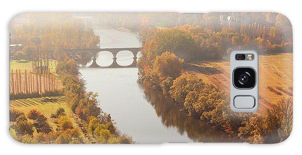 Dordogne River In The Mist Galaxy Case