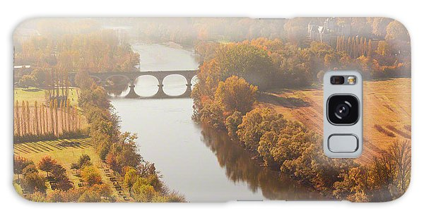 Galaxy Case featuring the photograph Dordogne River In The Mist by Mark Shoolery