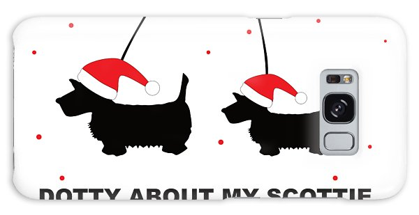 Dotty About My Scottie - Xmas Galaxy Case