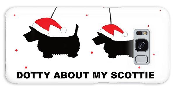 Dotty About My Scottie - Xmas Galaxy Case