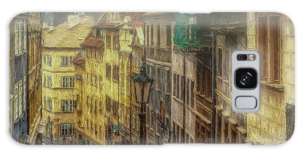Downhill, Downtown, Prague Galaxy Case