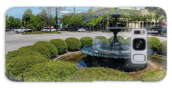 Downtown Aiken Sc Fountain Galaxy Case