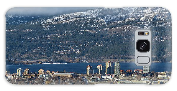 Downtown Kelowna From Dilworth Galaxy Case