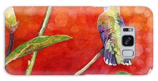 Song Birds Galaxy Case - Dreamy Hummer by Hailey E Herrera