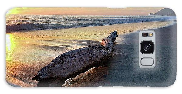 Drift Wood At Sunset II Galaxy Case