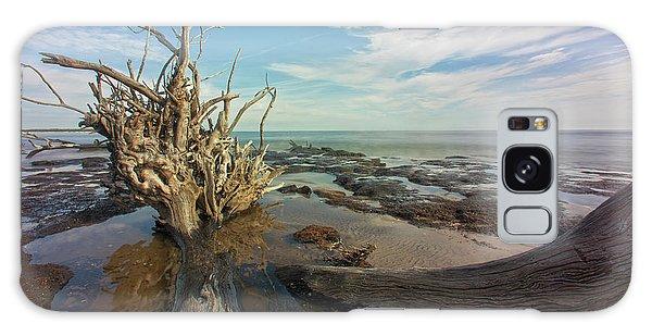 Galaxy Case featuring the photograph Drift Wood Beach by Robert Och
