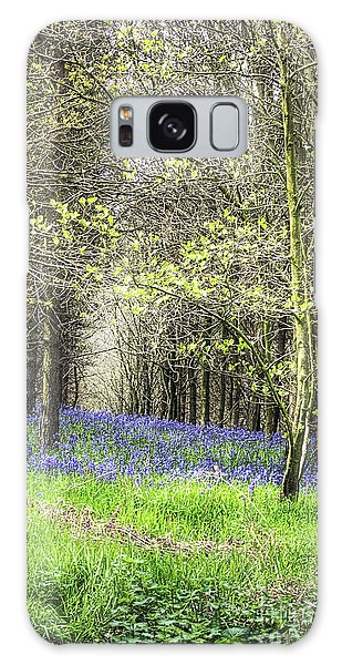 Bluebell Galaxy Case - Drifts Of Blue by John Edwards