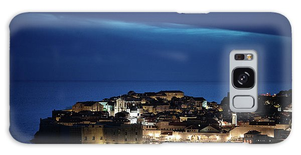 Dubrovnik Old Town At Night Galaxy Case