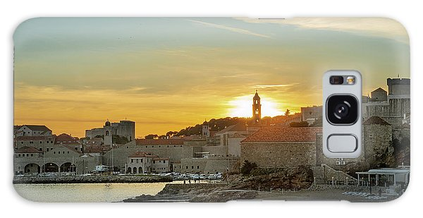 Dubrovnik Old Town At Sunset Galaxy Case