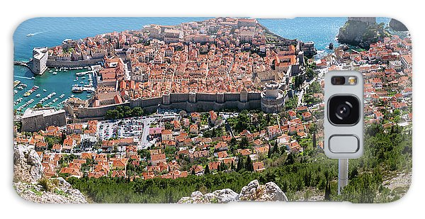 Dubrovnik Panorama From The Hill Galaxy Case