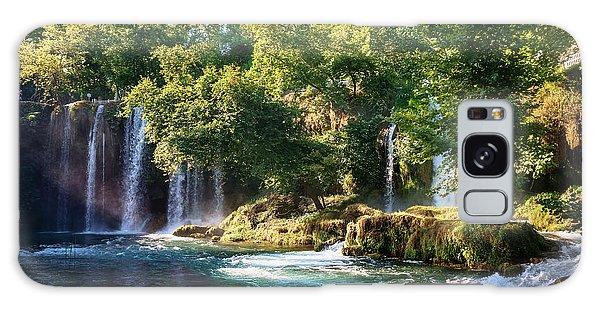 River Galaxy Case - Duden Waterfall Antalya Turkey. Summer by Dmitry Polonskiy
