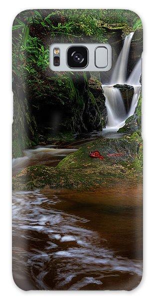 Duggers Creek Falls - Blue Ridge Parkway - North Carolina Galaxy Case