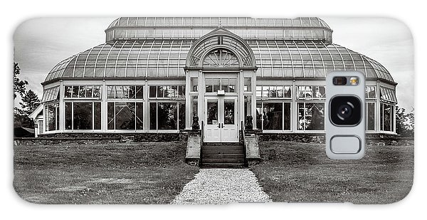 Galaxy Case featuring the photograph Duke Farms Conservatory by Steve Stanger