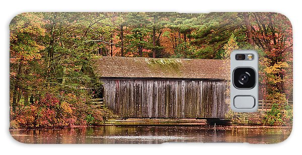 Dummerston Covered Bridge At Sturbridge Village Galaxy Case