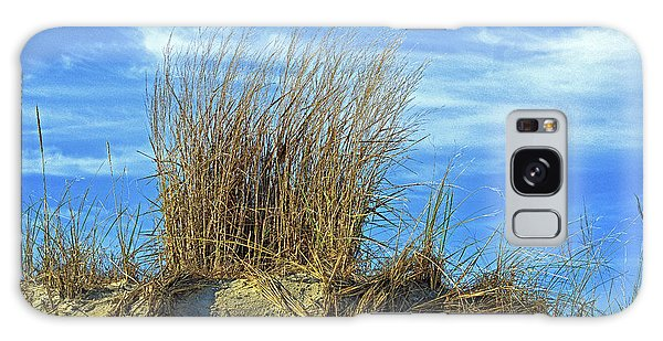 Galaxy Case featuring the photograph Dune Grass In The Sky by Bill Swartwout Fine Art Photography