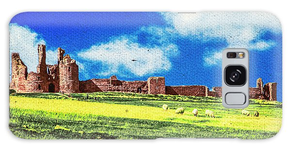 Dunstanburgh Castle In Oil Galaxy Case